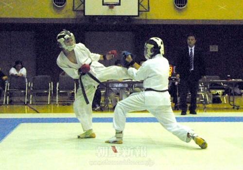 5月に行われた「第8回在日本朝鮮人空手道選手権大会」(撮影=李英徳)
