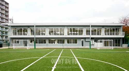 現在の東京第6初級の校舎(提供=東京第6初級)