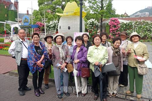 旅行の参加者たち
