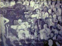 「カンナニの埋葬」作者晩年作 259.0x181.8(センチ)所蔵先不詳