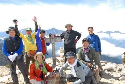 第19回在日同胞大登山大会の様子(2013年)