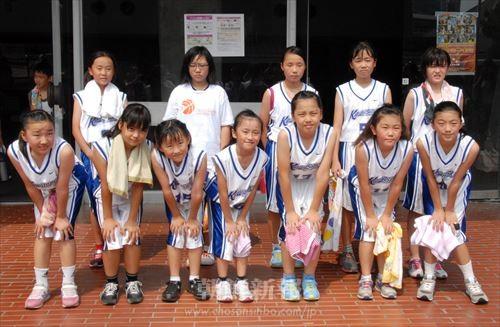 2大会ぶりに出場した川崎の女子チーム