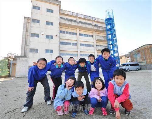 現在豊橋初級に通う児童たち