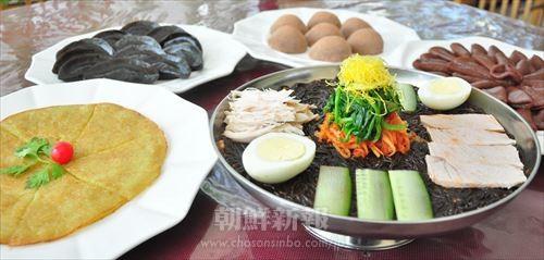 同店人気の慈江道の郷土料理