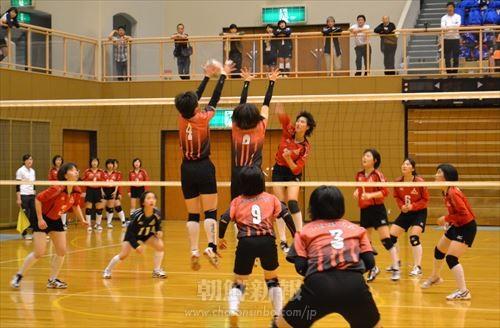 高級部決勝戦(神戸対大阪)