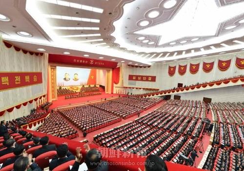 朝鮮労働党第7回大会が6日、平壌で盛大に開幕した。(「労働新聞」電子版より)