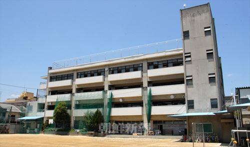 大阪第4初級の校舎(現在)