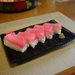 マグロの箱寿司