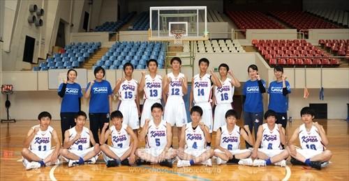 都大会初出場を決めた東京朝高男子バスケ部