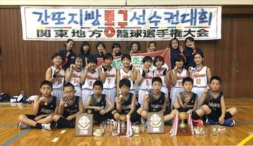 男女アベック優勝を果たした名古屋の選手たち
