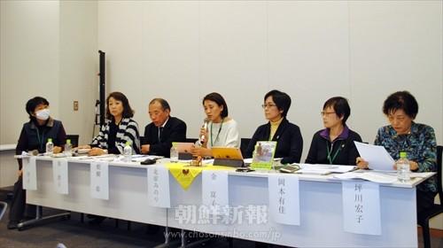 NHKの偏向報道に抗議した