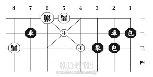 〈みんなの広場・特別企画〉朝鮮将棋・詰将棋 8