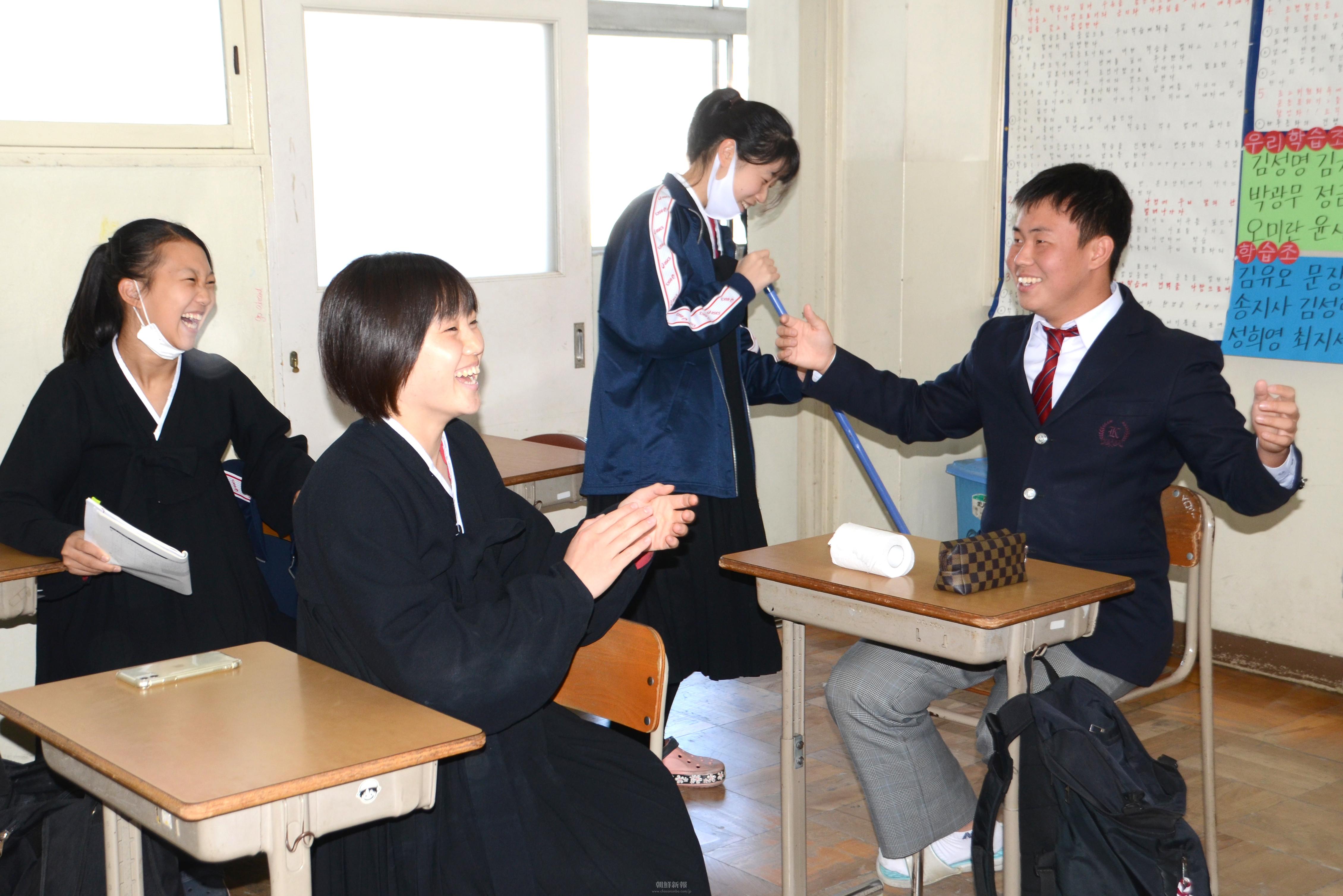 〈特集・大阪朝高ラグビー部 6〉「応援されるチーム」に/学校生活でも役割を発揮