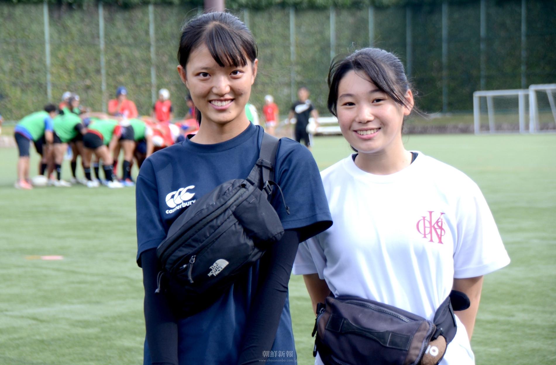 〈特集・大阪朝高ラグビー部 4〉明るい性格でチームを照らす/陰で支える女子マネージャーたち