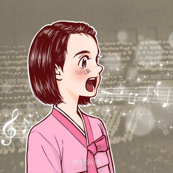 〈コッソンイ・繋 -統一への思い咲かせ―〉7千人が歌う統一の歌/髙壽江さん(1992、明石初級・初3)