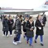 在日朝鮮学生少年芸術団、平壌到着