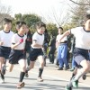 光明星節を記念する茨城初中高マラソン大会、初級部低学年が大会記録