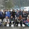 北陸初中で日本市民らが雪かき、気持ちのいい人ばかり、素敵な笑顔