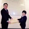 東京第9初級2年・朴健智さんが年賀状大賞受賞
