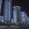 新たな夜の観光スポット、万寿台地区の夜景