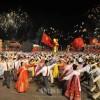 【写真特集】「歴史的な4月」迎えた平壌で祝砲夜会など開催