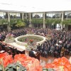 金日成花祭典が閉幕、30余万人で盛況