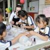 城北初級で職業体験イベント、青商会と朝青が手作りで