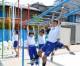 「枝川朝鮮学校支援都民基金」、東京第2初級に遊具を寄贈