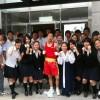 【動画付】広島初中高ボクシング部・姜礼偉選手、インターハイ出場へ、同部6年ぶり