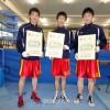 大阪朝高3選手が優勝、「国体」ボクシング大阪府予選