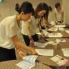 女性朝青員たちが奮起、好評を博したチマ・チョゴリファッションショー「伝統美」
