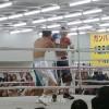 日本スーパーフライ級タイトルマッチ、朴泰一選手が初防衛に成功