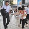 「高校無償化」適用と補助金再開求め街頭宣伝、大阪の同胞、日本市民ら