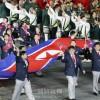 ロンドンオリンピックが開幕、大型国旗広げ入場