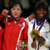 〈ロンドン五輪〉 柔道女子52キロ級、アン・クメ選手が金メダル獲得