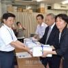 補助金支給を要請、埼玉朝鮮学園の関係者が県庁を訪問
