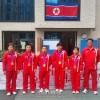 〈ロンドン五輪〉 朝鮮選手団の宿泊地に横断幕、広島、岡山、四国の中2生徒たち