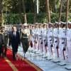 金永南委員長、イランを公式親善訪問、大統領と会談