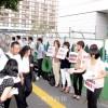 関東地方の朝青員たち、国会前で「無償化」適用訴える