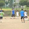 FCコリアがサッカー教室、長野初中生徒たちのために