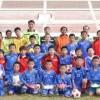 祖国訪問中の東京第1サッカー部、練習試合で勝利