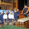 〈教室で〉西東京第2初級 体育担当・金将志先生