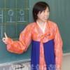 〈教室で〉南武朝鮮初級学校・尹春花先生