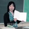 〈教室で〉東北初中高 中級部 国語・金順実先生