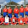 京都中高中級部サッカー部、京都府中学校代表決定大会で初優勝