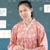 〈教室で〉栃木朝鮮初中級学校 国語・徐采連教員