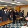 神奈川朝高生など、県庁へ補助金の支給を要請