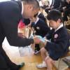 朝、日、英の3カ国語の育成目指す/東京第6初級入学式