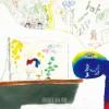 〈子ども美術館-第41回学生美術展 15〉入学-自分を育てる難しさ(クレヨン、パステル、色鉛筆)