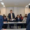 「連絡会」と朝鮮学校関係者が文科省訪れ「3.31集会」のアピール文を提出